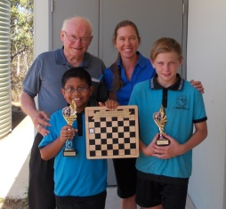 Chess Club Award Winners